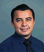 Mechanical Engineering graduate student Edgar Perez-Lopez