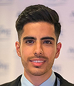 Mechanical Engineering graduate student Mehrad Mortazavi