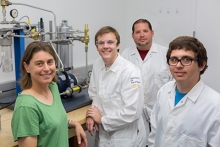 Ashlie Martini and her research team